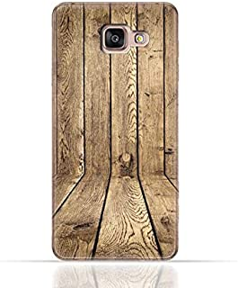 Samsung Galaxy A5 2016 TPU Silicone Case with Wood Texture Old Panels Pattern