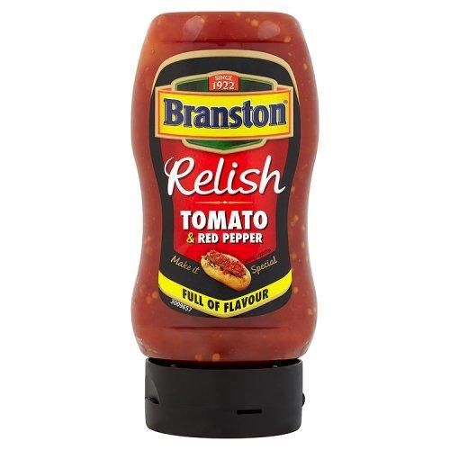 Branston Tomato & Red Pepper Relish Hot Dog Relish Tomato & Red Pepper