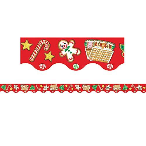 Teacher Created Resources Christmas Border Trim, Multi Color (4157)