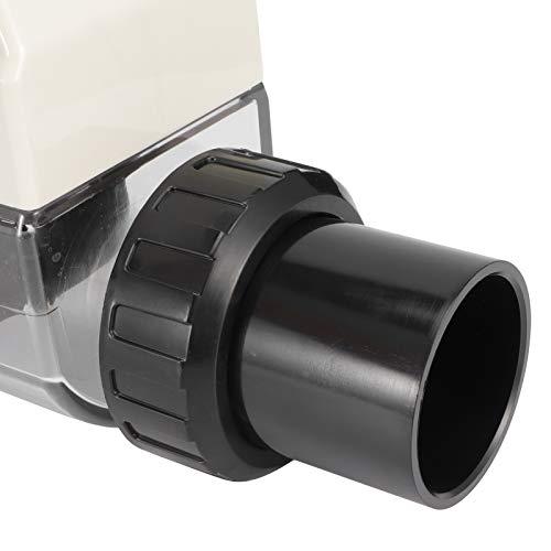 01 Clorador, Generador de Cloro Plástico con Función de Limpieza Automática para Tanques y Piscinas Infinitas para Piscinas Piscinas de SPA