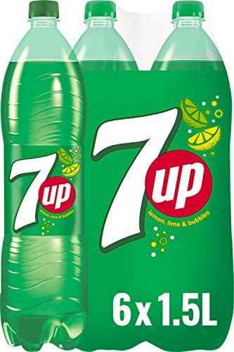 7UP, Limonade mit Limetten- und Zitronengeschmack (6 x 1,5 l)