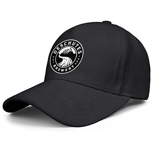 WintyHC Deschutes Brewery Beer Logo Cowboy Hat Trucker Hat One Size Printed Baseball Cap