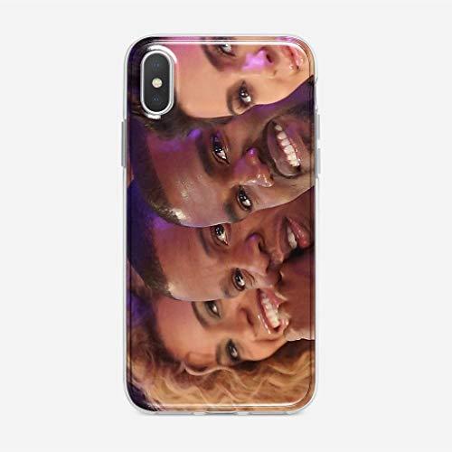 KOUHONGYU Funda iPhone 5 / 5S / SE Case Clear Transparent Soft TPU Cover Beyon CE, Jay Z, Kan ye West,im Krdashian Phonec_101