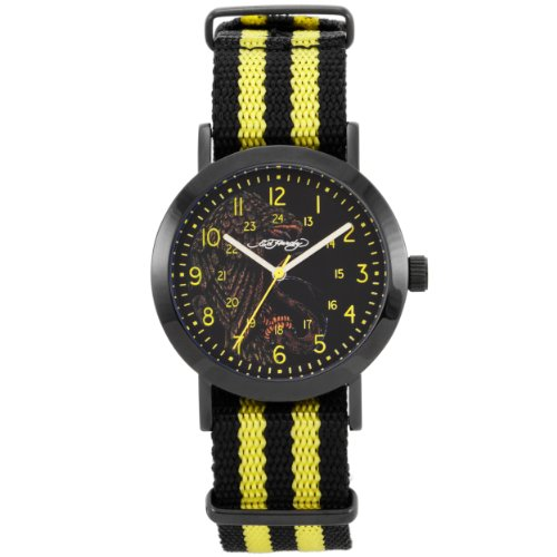 Ed Hardy 1109-EL Cameron Eagle Yellow Watch