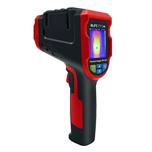 Cámara de imágenes térmicas Detector de calefacción por suelo radiante infrarrojo NF-521 Temperatura Imager térmico de mano con tarjeta TF