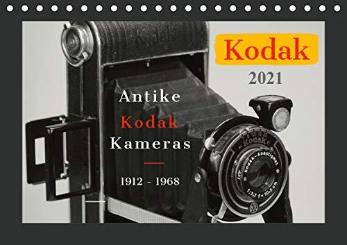 KODAK Antike Kameras 1912-1968 (Tischkalender 2021 DIN A5 quer)