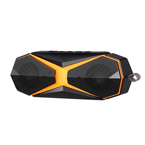 JHMAOYI Speaker Tragbarer Bluetooth-Lautsprecher Kreativer wasserdichter Subwoofer-Lautsprecher für den Außenbereich.