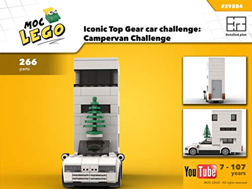 Iconic car challenge: Campervan Challenge (Instruction Only): MOC LEGO (English Edition)