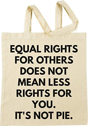 Vendax Equal Rights for Others Does Not Mean Less Rights for You Beige Borse per La Spesa