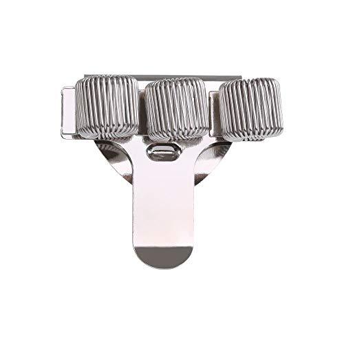 1 soporte de metal para bolígrafos de resorte con clip de bolsillo para médicos, enfermera, uniforme, suministros de oficina (color: 3)