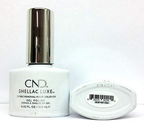 Shellac Luxe 108 Cream Puff 0.42oz/12.5ml
