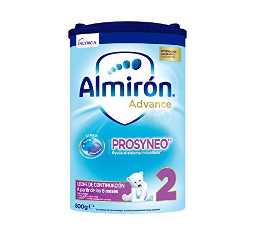 Almirón Prosyneo 2, Leche de Continuación en Polvo para Bebé, a partir de 6 Meses, 800g