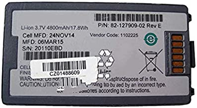 szquan 17.8Wh 4800mAh 3.7V 82-127909-02 Battery Compatible with Symbol Compatible with Motorola MC3090 MC3190 MC3100 MC3190R MC3190Z MC3190S MC3190G