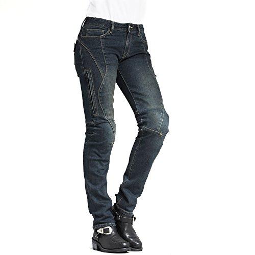 Maxler Women's Motorcycle Jeans