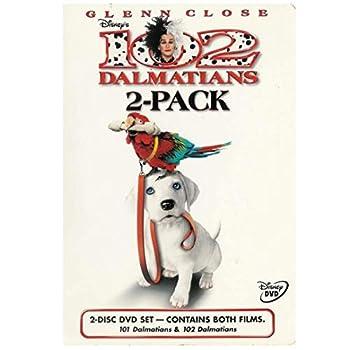 DVD 101 Dalmatians (Widescreen) & 102 Dalmatians (Full Screen) - 2 Pack Book