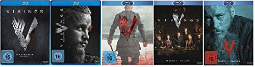 Vikings Staffel 1-4.2 (1+2+3+4.1+4.2) [Blu-ray Set]