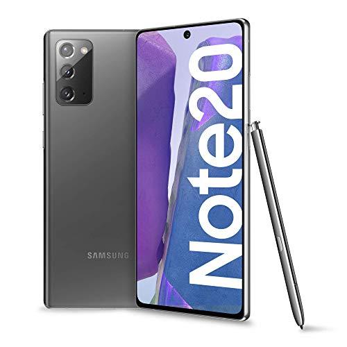 Samsung Galaxy Note20 Smartphone, Display 6.7' Super Amoled Plus Fhd+, 3 Fotocamere Posteriori, 256Gb, Ram 8Gb, Batteria 4300 Mah, Dual Sim + Esim, Android 10, Mystic Gray (Ricondizionato)