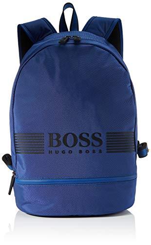 BOSS Men's Pixel_backp Pock Backpack, Bright Blue431, One Size
