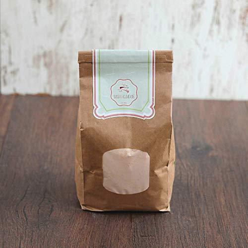 süssundclever.de® Bio Linsenmehl   rote Linsen   1,0 kg   plastikfrei und ökologisch-nachhaltig abgepackt