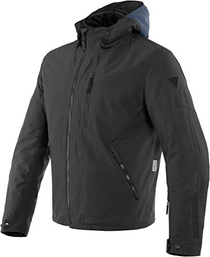 DAINESE Giacca moto scooter Mayfair d-dry black 88 jacket