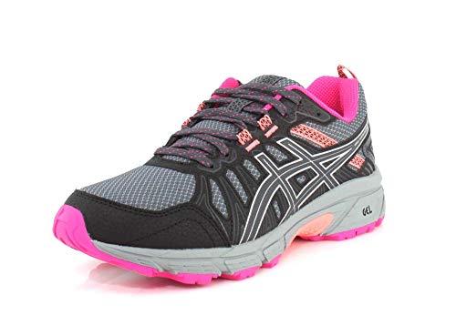 ASICS Women's Gel-Venture 7 (D) Shoes, 8W, Carrier Grey/Silver