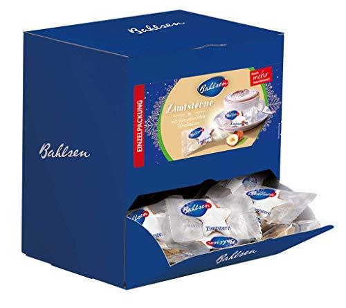 Bahlsen Zimtsterne – feines Gebäck mit Zimt und Haselnüssen – im praktischen Thekendispenser – circa 135 Weihnachtskekse einzeln verpackt – Großpackung mit Portionspackungen, 1er Pack (1 x 756 g)