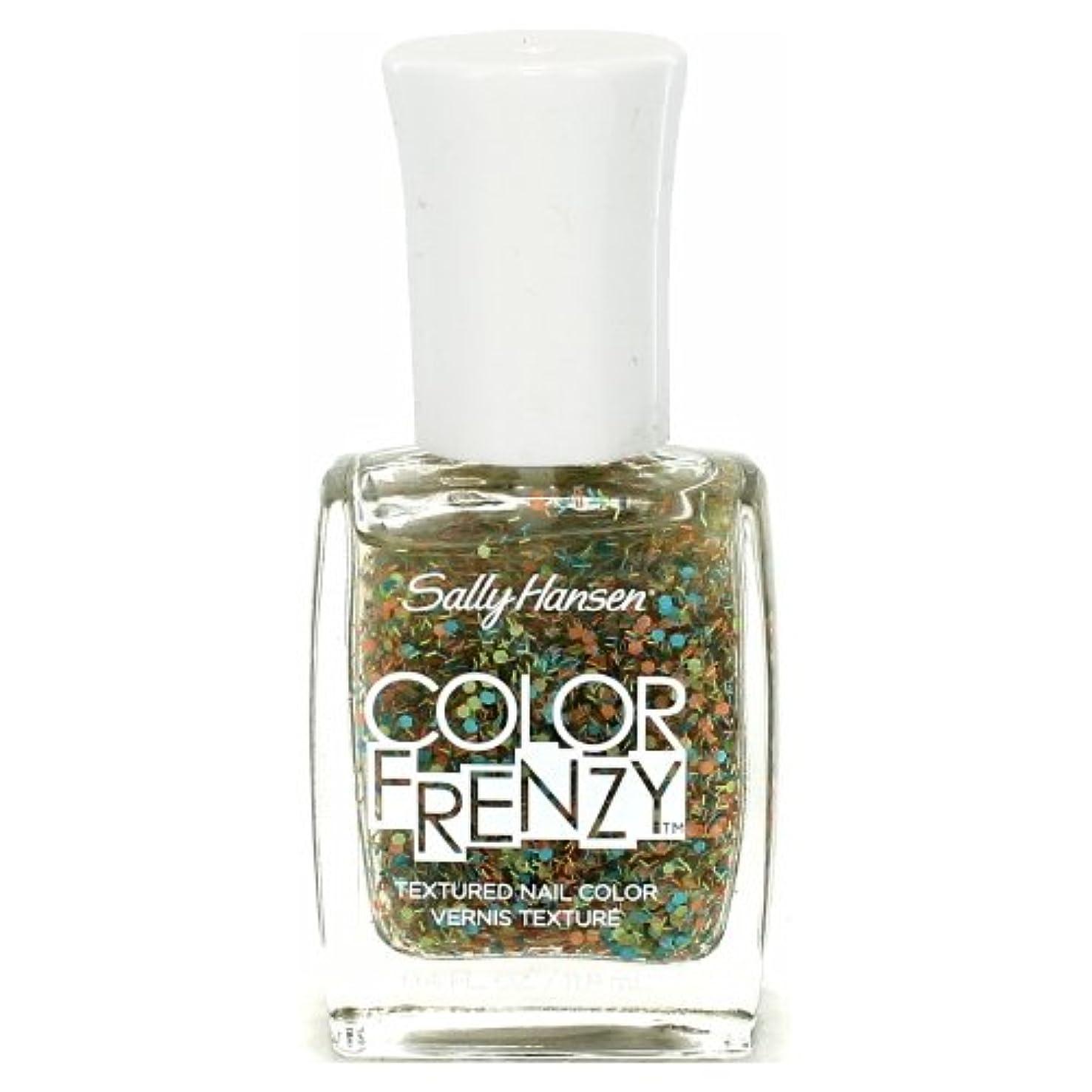 行政脅かすバーター(3 Pack) SALLY HANSEN Color Frenzy Textured Nail Color - Paint Party (並行輸入品)