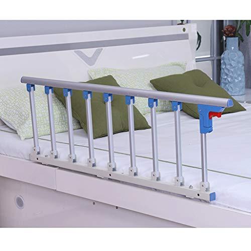 YF Tren Cama Plegable De Seguridad del Protector Lateral For Los Adultos Mayores Manija Auxiliar Handicap Cama del Hospital Barandilla De Metal Grip Barra De Parachoques (Size : 95x40cm)