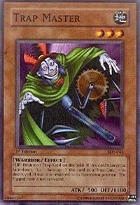 Yu-Gi-Oh! - Trap Master  SDY-043  - Starter Deck Yugi - Unlimited Edition - Common