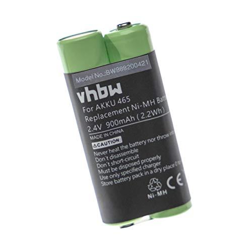 vhbw Akku passend für Gr&ig Digta 415 Diktiergerät (900mAh, 2.4V, NiMH)