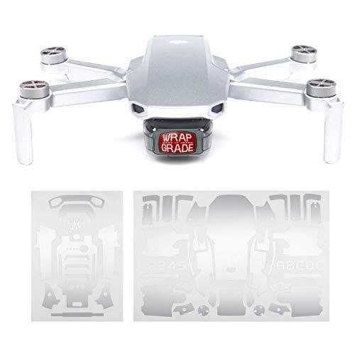 WRAPGRADE Skin Compatibile con DJI Mavic Mini (Airforce Silver)