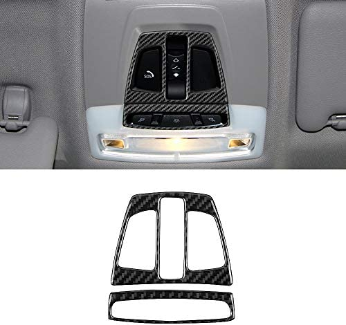 BLAKAYA Compatible with Carbon Fiber Front Reading Light Cover Trim for BMW 3 4 Series GT F30 product image