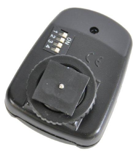 CowboyStudio 16-channel Wireless Radio Remote Trigger for Studio Strobe MonoLights to Use with Nikon and Canon SLR Cameras