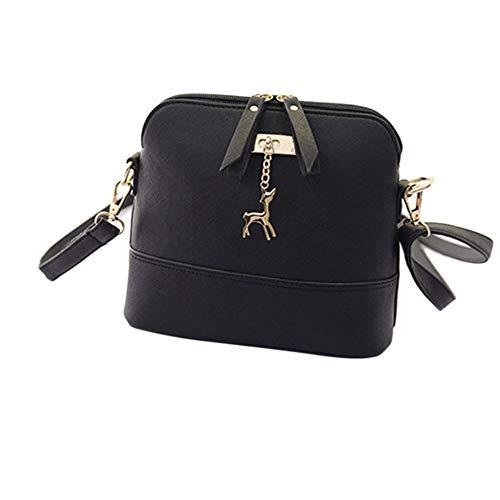 Why Choose Toimothcn Women Simple Messenger Bags Vintage Small Mini Shell PU Leather Handbag Casual ...