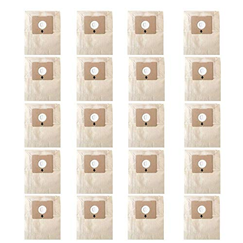 Yours Replacement Bissell Dust Bag 20-Pack for Zing 4122 Series # 2138425, 213-8425