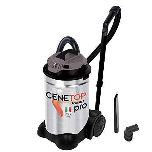 Ribimex Aspiracenere professionale  CENETOP PRO  1200 W 30 L con pulizia automatica filtro