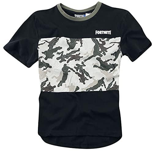 Fortnite Camiseta, Negro, 14 años para...