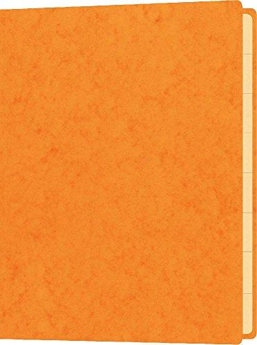 Briefmarkenmappe, für Inhalte bis DIN A5, Maße (BxH): 180 x 250 mm, orange