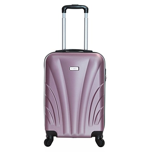 Slimbridge Ferro 55 cm Hard Suitcase, Rose Gold