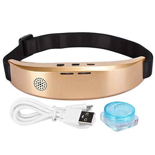 Instrumento inteligente para dormir, masajeador de cabeza, masajeador eléctrico para el cuero...