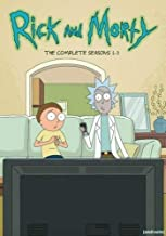 rick and morty complete series dvd