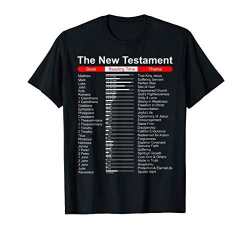 Bibel Geschenk | Neues Testament Themen Bibelstudium | Bibel T-Shirt