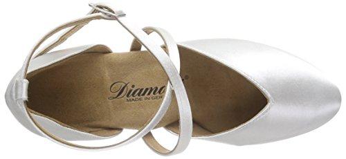 Diamant Brautschuhe Standard Tanzschuhe 107-013-092, Damen Tanzschuhe – Standard & Latein, Weiß (Weiß), 42 2/3 EU (8.5 Damen UK) - 5