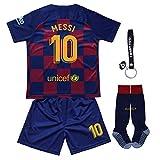 Trikot Fußball für Kinder T-Shirts Jungen Heimtrikot Kinder Trikot Set 2021 Heim/Auswärts Trikot Mit Shorts und Socken
