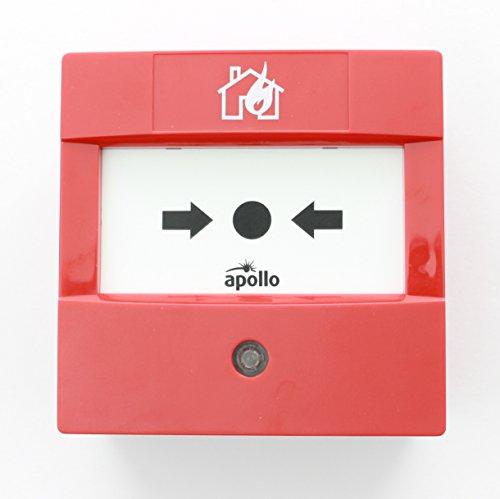 Apollo 55200-908 XP95 pulsador de alarma Manual puede funcionar con aislante