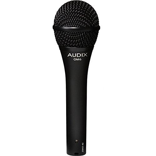 Audix OM6 Hochwertigstes dynamisches Mikrofonen für Stimmen, VLM-Design Typ D