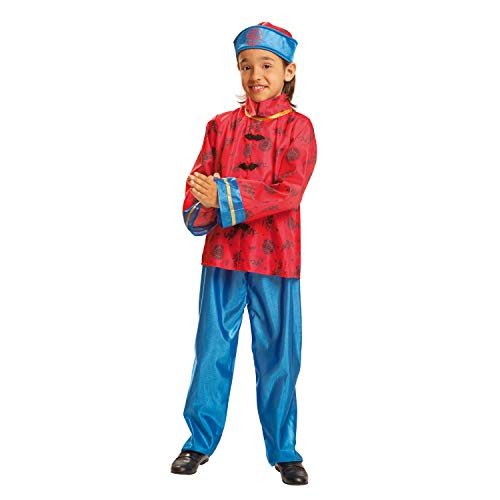 My Other Me - Disfraz de Chino, talla 7-9 años (Viving Costumes MOM01041)