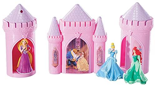 "Decopac Disney Princess Happily Ever After Signature DecoSet Cake Topper, 4.8"" L x 2.5"" W x 6"" H, Pink"