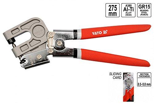 YATO Profil Verbundzange Ständerwerk Trockenbau Zange Krimperzange 275mm