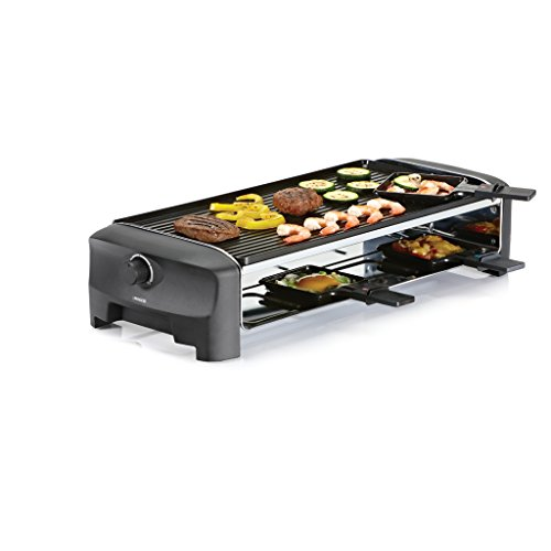 Princess 162840 Teppanyaki Party – Parrilla, Raclette y Plancha Reversible